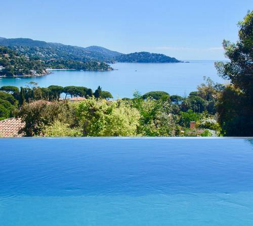 Loue villa vue mer avec piscine a St Clair-Lavandou (83) 8couchages