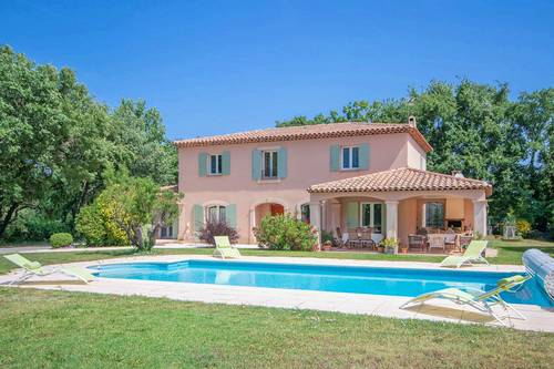 Loue villa + piscine 8couchages calme absolu à Aix en provence