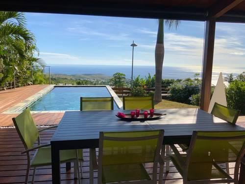 Loue Villa avec piscine et vue mer panoramique - 3chambres 6couchages - à La Réunion!