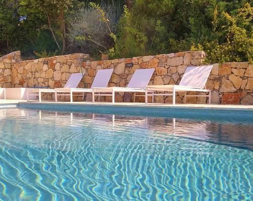 Loue Villa face à la mer, piscine, jacuzzi, 10couchages, Golf de St Tropez (83)