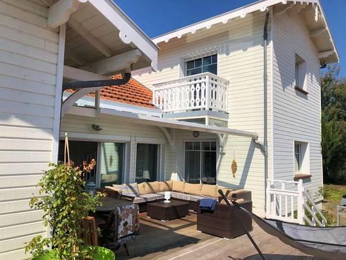 Loue villa rénovée à Arcachon (Abatilles), 900m plage, 12couchages