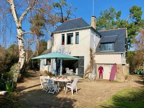 Loue Villa rénovée, 4chambres, Carnac Plage 7couchages