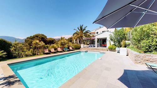 Loue villa Valmarine vue sur les 3iles et piscine - 6couchages - La Croix-Valmer (83)