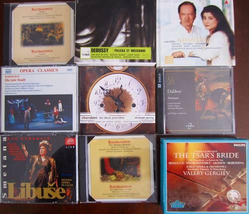Vingt-quatre opéras(cd)