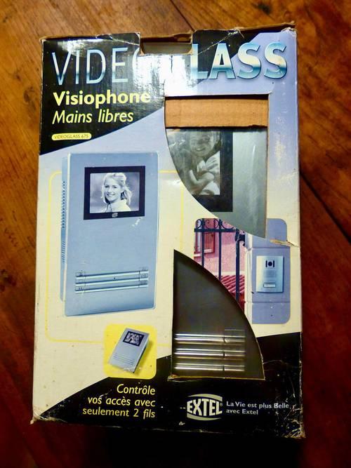 "Visiophone ""Vidéoglass"" de la marque Extel neuf"