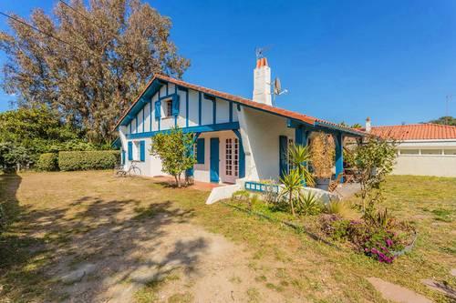 Loue villa à Chiberta-Anglet (64), plage/golf à pied - 8couchages