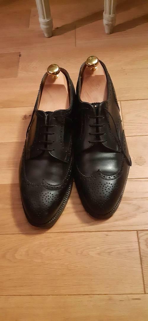Vends chaussures Weston Derby Double Semelle - Pointure 41.5