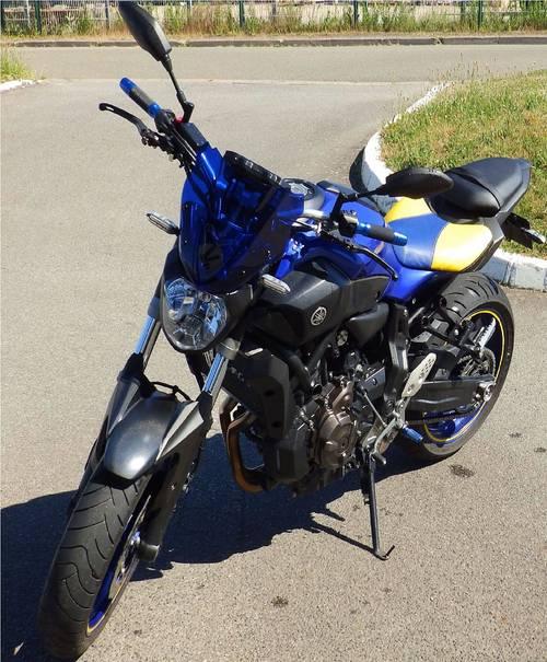 Yamaha Mt-07Mt072017- 9480km