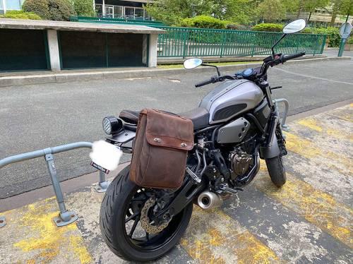 Vends Yamaha XSR 700bridée A2, 15500km · 2018